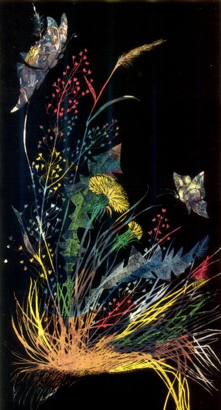 flori de camp cu fluturi